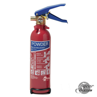 Midland Fire - 1 Kg Abc Dry Powder Fire Extinguisher