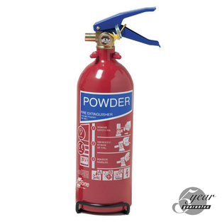 Midland Fire - 2 Kg Abc Dry Powder Fire Extinguisher
