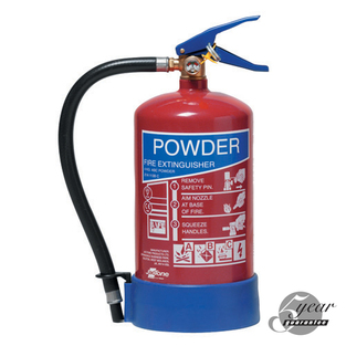 Midland Fire - 4 Kg Abc Dry Powder Fire Extinguisher