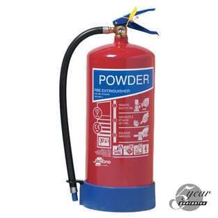 Midland Fire - 6 Kg Abc Dry Powder Fire Extinguisher