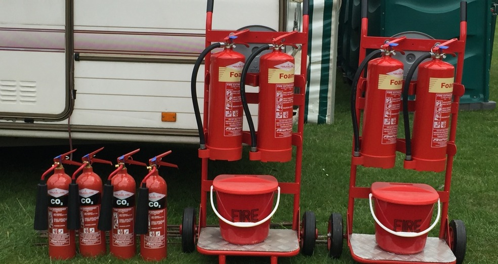 Event Hire Fire Extinguishers