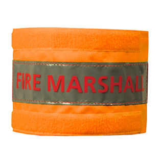 Midland Fire - Fire marshall luminescent orange arm band
