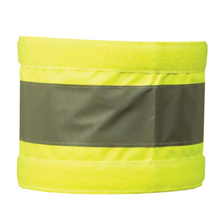 Midland fire - luminescent yellow fire marshal arm bad