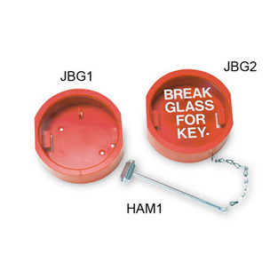 midland fire - break glass key holder with hammer