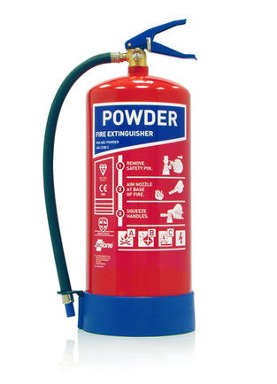 Midland Fire - 9 Kg Abc Dry Powder Fire Extinguisher